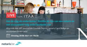 Notaris.be Fb Live